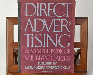 Direct Advertising & Sample Book of Mill Brand Papers. Volume XV., No 2.