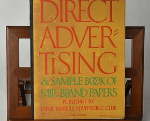 Direct Advertising & Sample Book of Mill Brand Papers. Volume XVI., No 4.