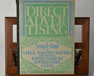 Direct Advertising & Sample Book of Mill Brand Papers. Volume XIII., No.3.