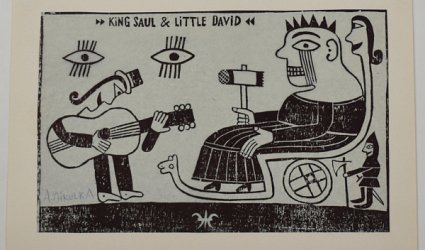 King Saul & Little David.