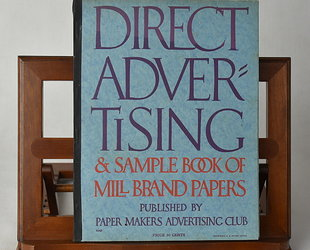 Direct Advertising & Sample Book of Mill Brand Papers. Volume XII., No. 3.