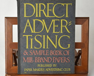 Direct Advertising & Sample Book of Mill Brand Papers. Volume XII., No. I.
